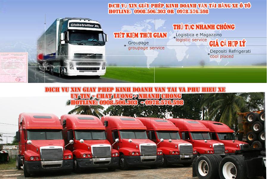 Dịch vụ xin giấy phép kinh doanh vận tải tại Tân Uyên bình dương