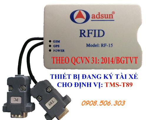 Thiết bị đầu đọc thẻ RFID