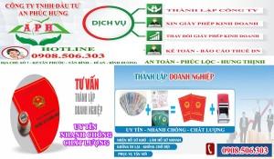 Dịch vụ thành lập công ty tại Quận 1 TpHCM