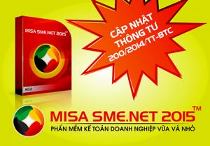 Lỗi không gõ tiếng việt trên MISA 2012-2015