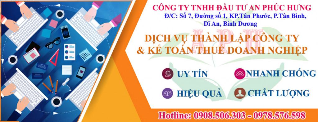 Dang ky giay phep kinh doanh o Thu Dau Mot Binh Duong