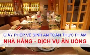 Dịch Vụ Xin Giấy Phép VSATTP Tại Dĩ An