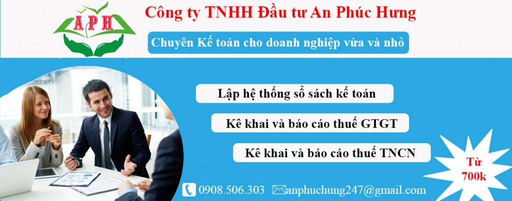Kế toán trọn gói tại Thuận An