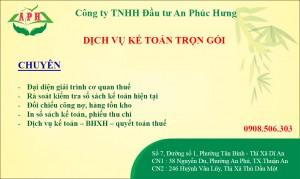 Dịch vụ Kế Toán Thuận An