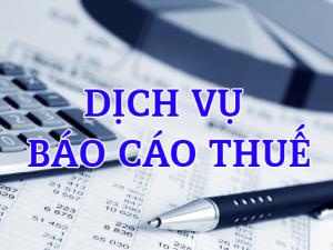 Dịch Vụ Báo Cáo Thuế Tại Dĩ An Bình Dương