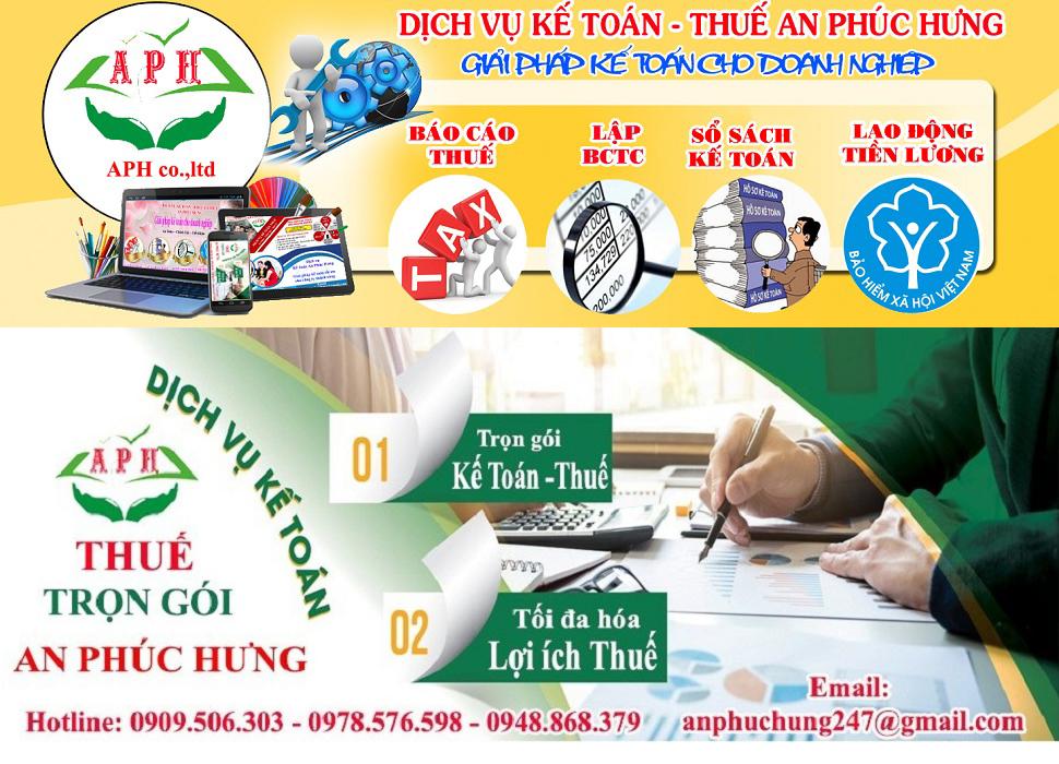 Kế toán tổng hợp trọn gói tại Thuận An Bình Dương