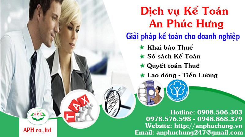 Dịch vụ kế toán tại Thuận An Bình Dương