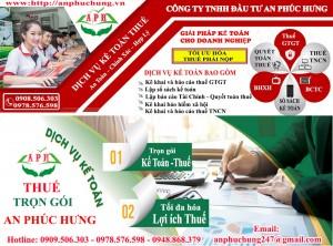 Báo cáo tài chính chuyên nghiệp – giá rẻ tại Dĩ An, Thuận An…