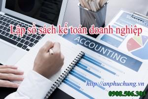 Lập sổ sách kế toán cho doanh nghiệp