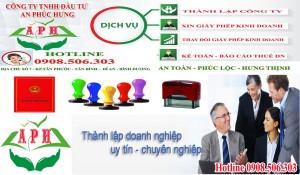Thành lập doanh nghiệp nhanh Thuận An