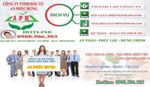 Dịch vụ thành lập công ty tại Dĩ An – Tư vấn thuế miễn phí