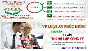 Dịch vụ thành lập công ty taị Dĩ An Thuận An Bình Dương