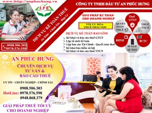 Kế toán thuế tổng hợp hàng tháng tại Thuận An Bình Dương