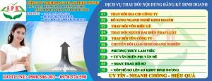 Thay Đổi Giấy Phép Kinh Doanh tại Thuận An
