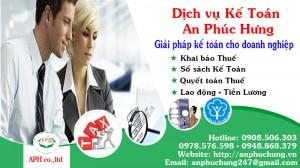 Dịch vụ kế toán Thuận An Bình Dương