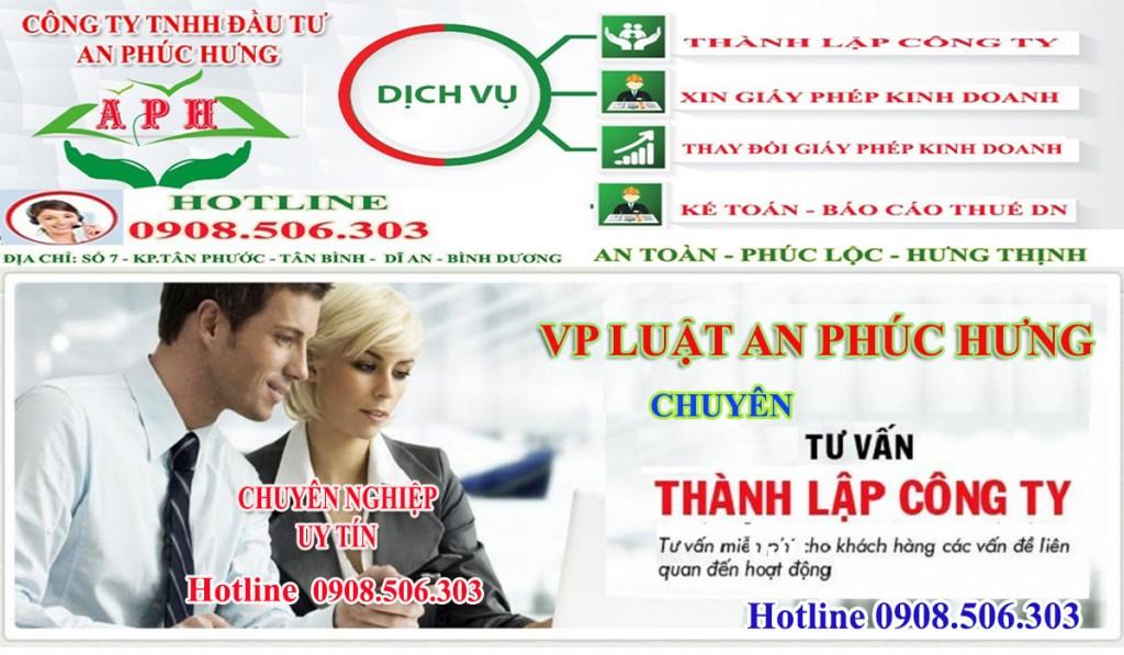 Tăng vốn điều lệ công ty tại Thuận An Bình Dương