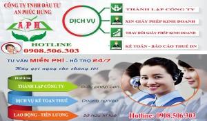 Cần thành lập công ty nhanh tại Thuận An Bình Dương