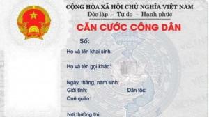 01 CMND hoặc thẻ căn cước
