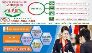 Dịch vụ Đăng ký kinh doanh tại Thị xã Thuận An