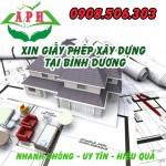 Dịch vụ xin giấy phép xây dựng tại Thuận An Bình Dương