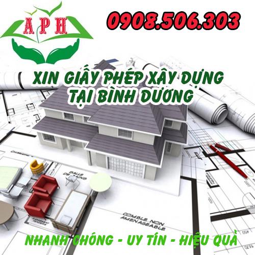 Xin Giấy phép xây dựng giá rẻ tại Thuận An Bình Dương