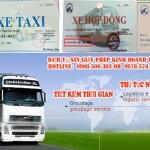 Dịch vụ xin phù hiệu xe ô tô tại Long An