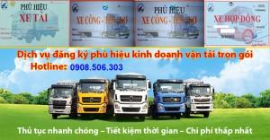 Dịch vụ đăng ký giấy phép kinh doanh vận tải