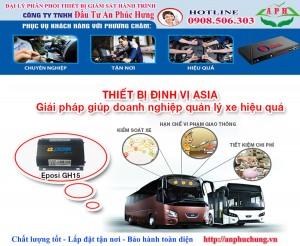 Dịch vụ Lắp định vị và xin phù hiệu xe tại Tp Hcm