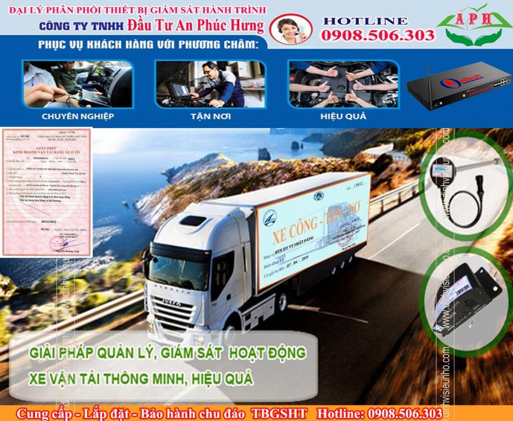 Dịch vụ xin phù hiệu xe tải dưới 3.5 tấn