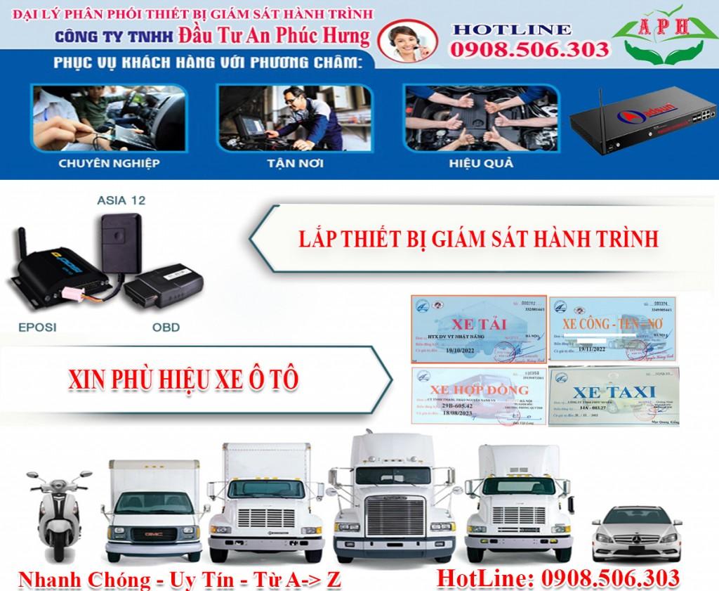 Giấy phép kinh doanh vận tải và phù hiệu xe, thiết bị giám sát