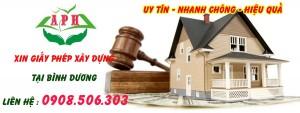 Dịch vụ xin giấy phép xây dựng nhanh nhất Thuận An