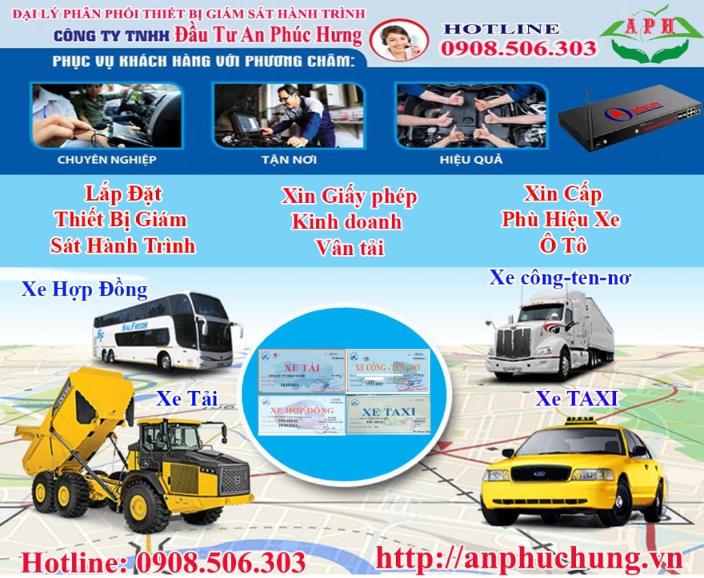 Xin cấp phù hiệu xe tải doanh nghiệp có vốn đầu tư nước ngoài tại HCM