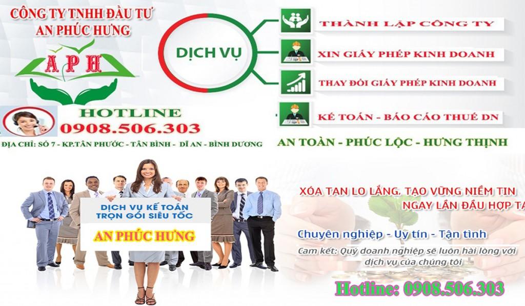 Đăng ký kinh doanh nhanh chóng tại Thuận An