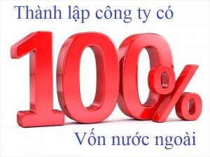 Thủ tục thành lập công ty 100% vốn nước ngoài tại Bình Dương