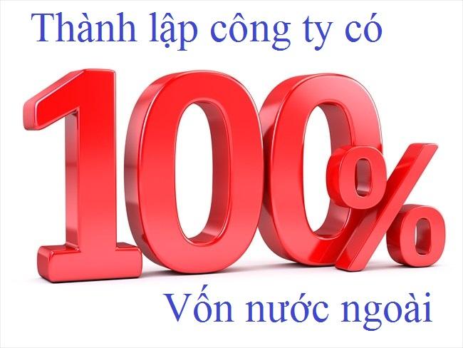 thủ tục thành lập công ty 100 vốn nước ngoài tại bình dương