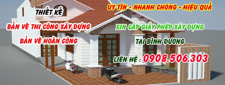 Xin giấy phép xây dựng nhanh nhất Thuận An Bình Dương