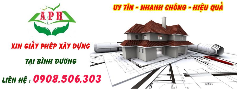 dịch vụ xin giấy phép xây dựng nhà ở tại tân uyên bình dương
