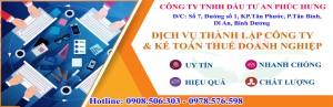 Dịch vụ bổ sung ngành nghề kinh doanh tại Dĩ An Thuận An