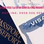 dịch vụ làm visa tại dĩ an bình dương