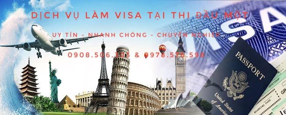 dịch vụ làm visa tại thủ dầu một