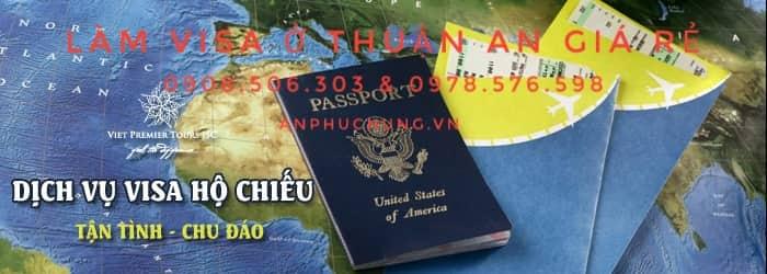 dịch vụ làm visa tại thuận an