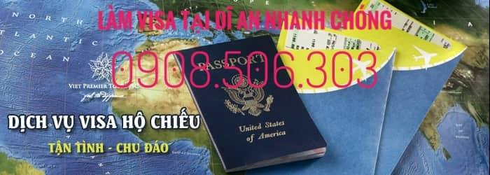xin cấp visa tại dĩ an bình dương