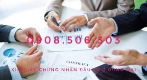 Dịch vụ xin cấp giấy chứng nhận đầu tư ở Đồng Nai