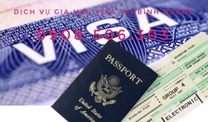 Dịch vụ gia hạn visa tại Bình Dương