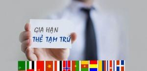Gia hạn thẻ tạm trú cho người nước ngoài tại Bình Dương