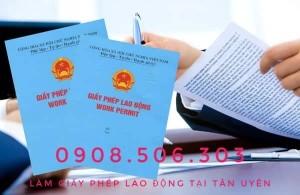 Làm giấy phép lao động cho người nước ngoài tại Tân Uyên