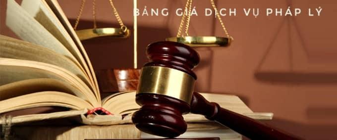 bảng giá dịch vụ pháp lý doanh nghiệp tại bình dương