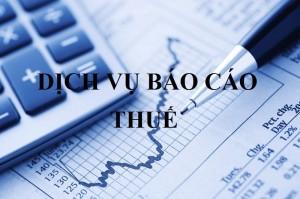 Dịch vụ báo cáo thuế trọn gói tại Bình Dương