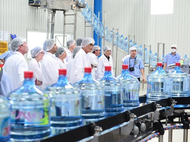 sản xuất nước đóng chai tại bình dương