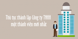 Thủ tục thành lập công ty TNHH 1 thành viên tại Bình Dương